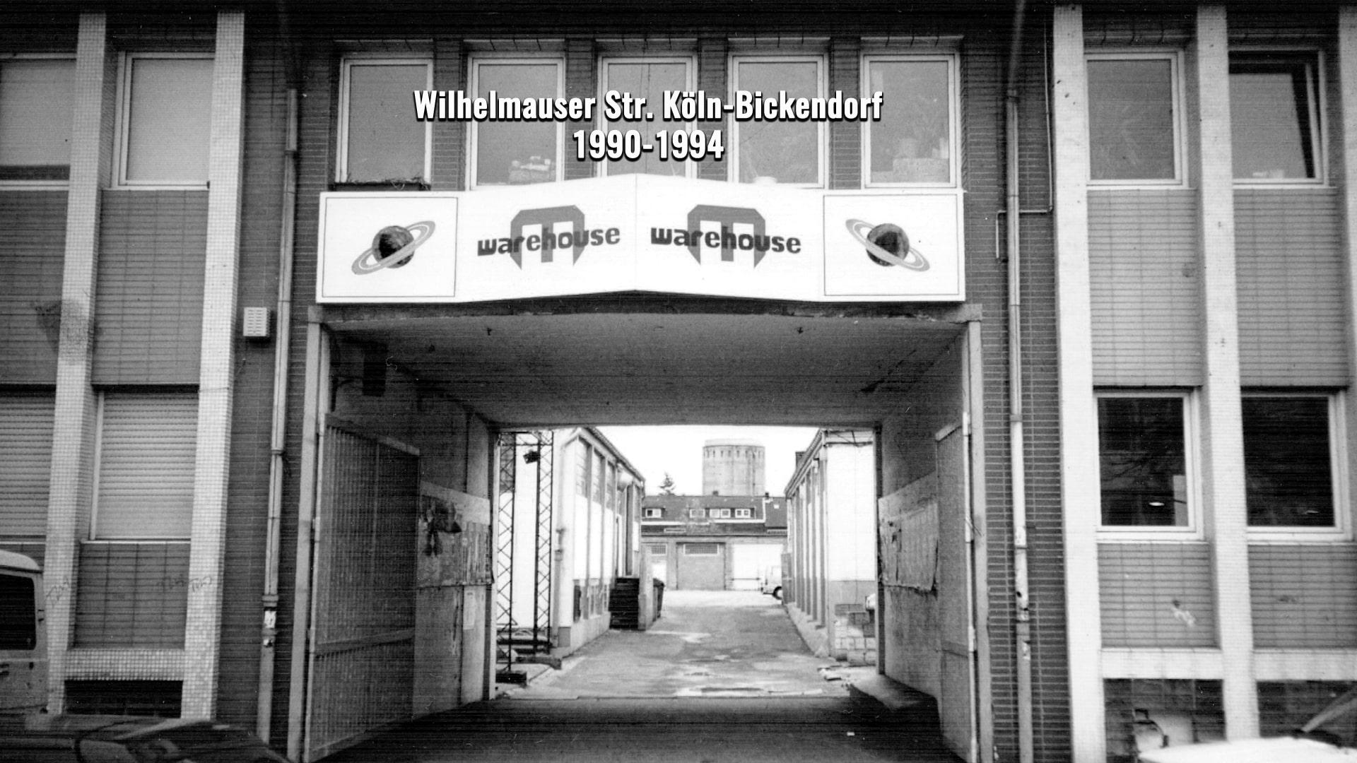 Warehouse Club Eingang 1991